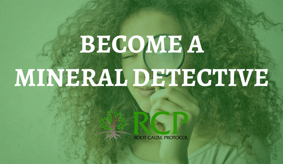 Do you want to become a Mineral Detective?