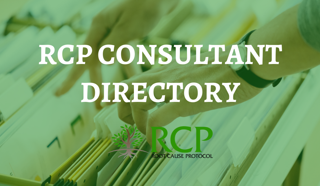 Get Help using the RCP Consultant Directory
