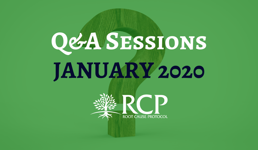 Live Q&A sessions on in January