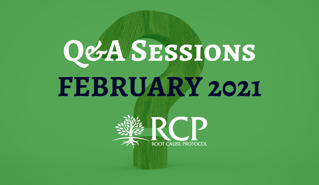 Live Q&A sessions on in February