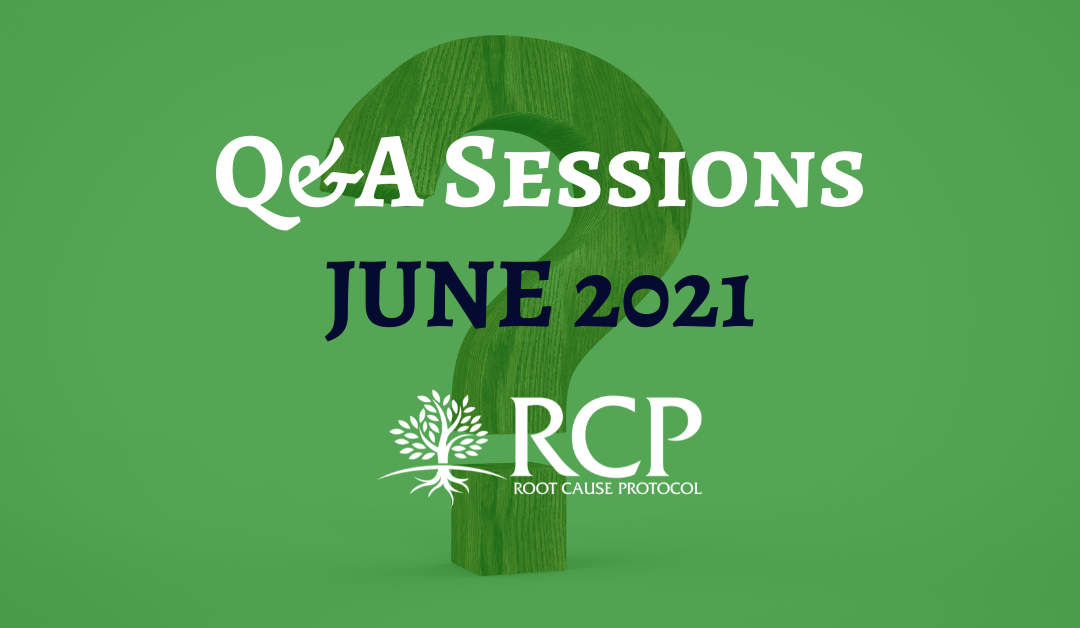 Live Q&A sessions on in June
