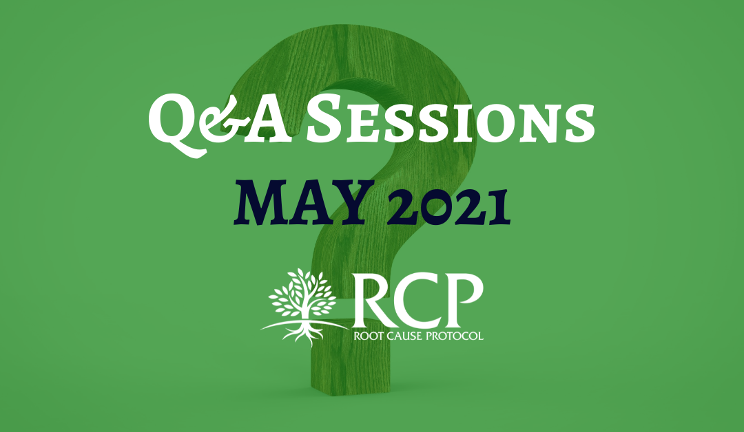 Live Q&A sessions on in May