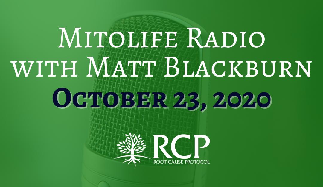 Mitolife Radio – Matt Blackburn | Lipofuscin and Beyond with Morley Robbins – Episode 94 | October 23, 2020