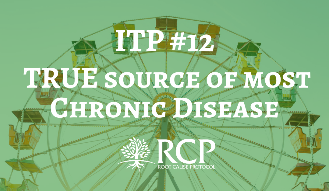 Iron Toxicity Post #12: Find out what the TRUE source of most, if not all, chronic disease especially neurodegenerative conditions.