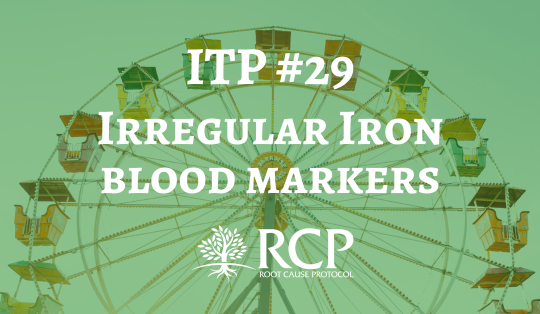Iron Toxicity Post #29: Irregular iron blood markers especially low ferritin is code for more magnesium, ceruloplasmin and B2