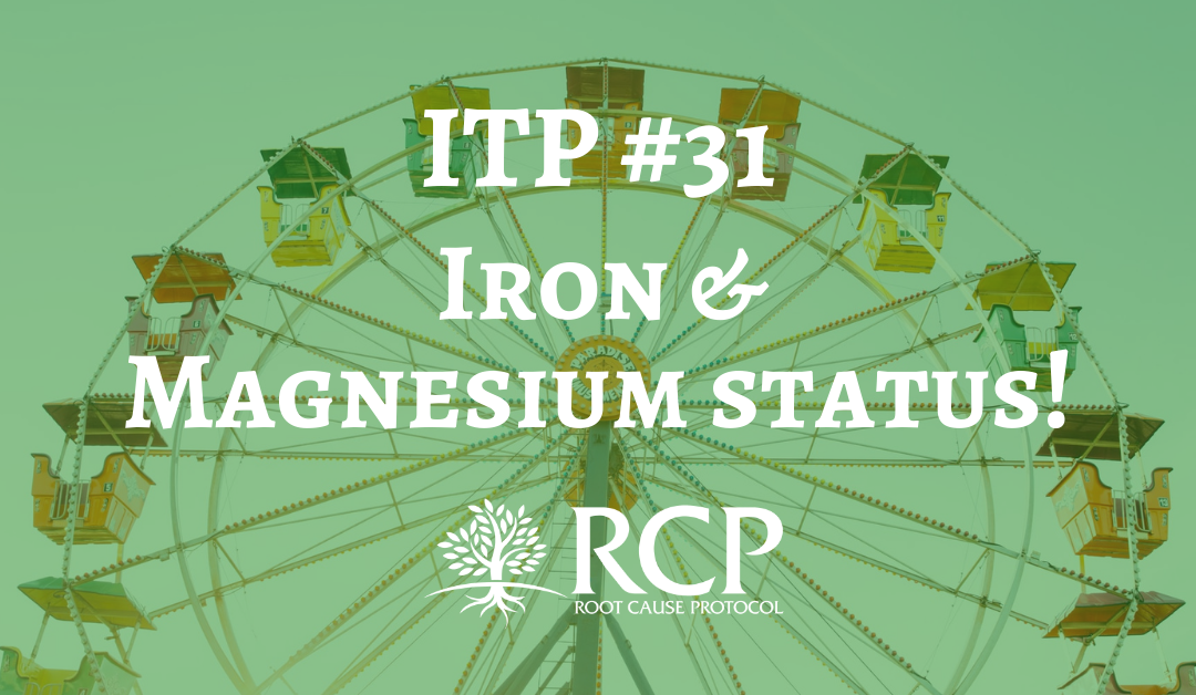 Iron Toxicity Post #31: When iron is out of control, it has profound effect on magnesium status!