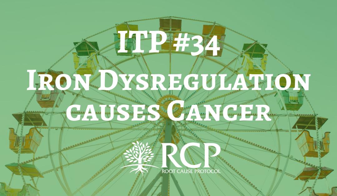 Iron Toxicity Post #34: Iron dysregulation causes cancer