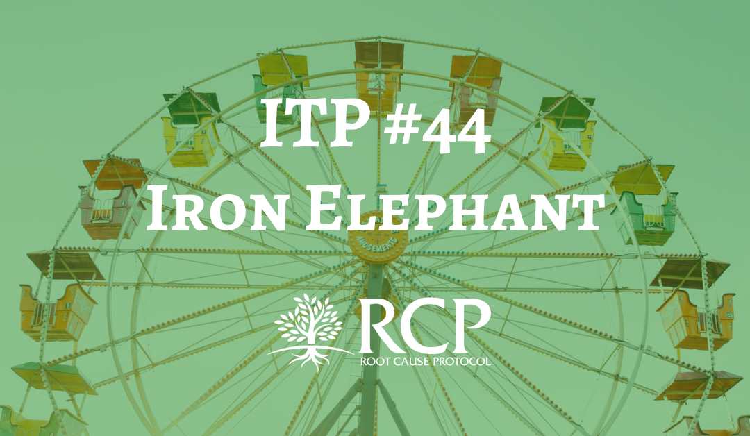 Iron Toxicity Post #44: Iron Elephant