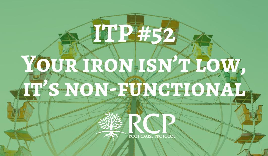 Iron Toxicity Post #52