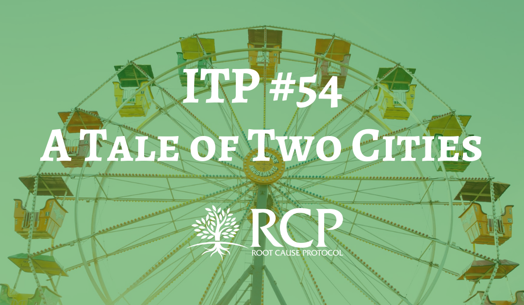 Iron Toxicity Post #54: A Tale of Two Cities