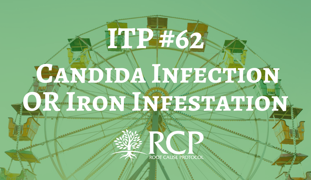Iron Toxicity Post #62: You do NOT have a Candida Infection, you DO have an Iron Infestation!