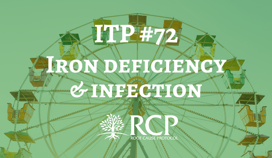 Iron Toxicity Post #72: Iron deficiency is associated with RESISTANCE to infection