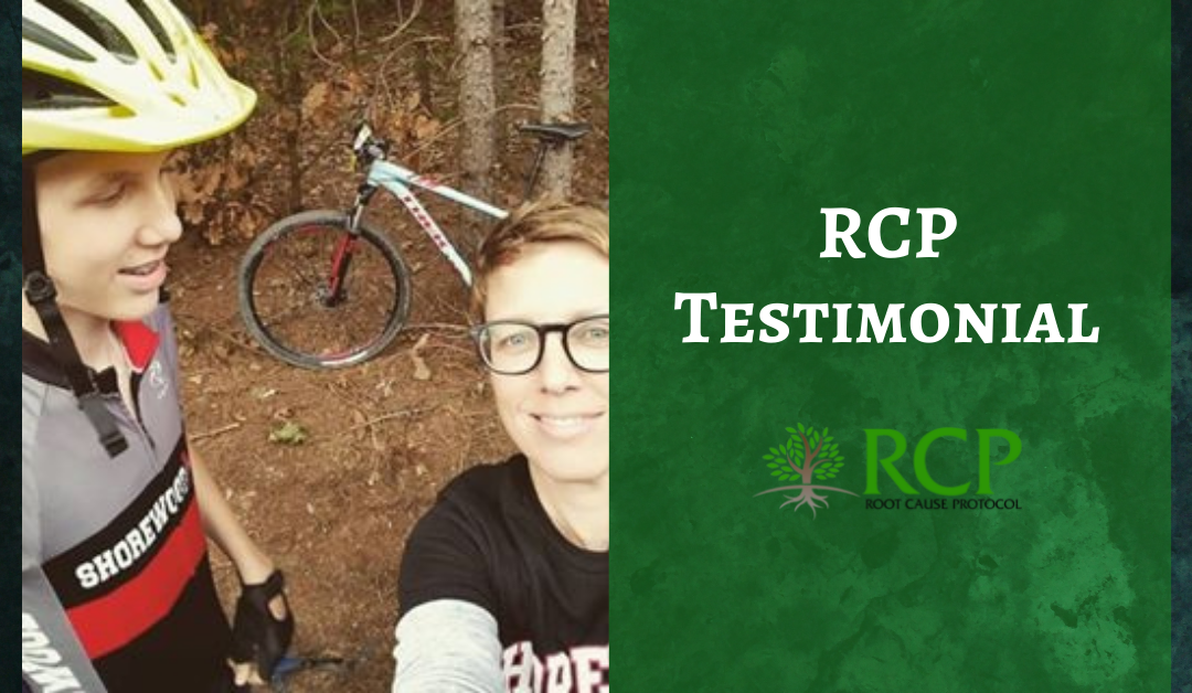 Staci L.P. | The Root Cause Protocol increased and improved my energy levels, sleep and overall health.